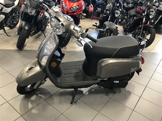 2018 Genuine Scooter Co. Buddy Kick 125 at Rod's Ride On Powersports, La Crosse, WI 54601