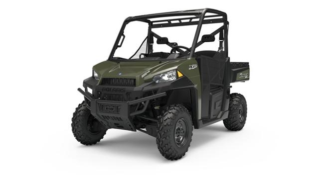2019 Polaris Ranger 900XP EPS Sage Green at Fort Fremont Marine, Fremont, WI 54940
