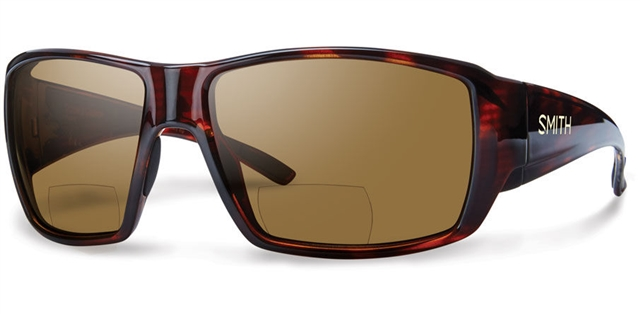 2019 Smith Guides Choice Bifocal 2.00 Matte Havana w/ Brown Polarized at Harsh Outdoors, Eaton, CO 80615
