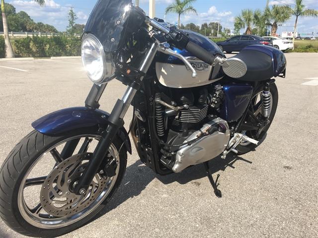2012 Triumph Bonneville SE at Fort Myers