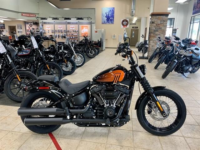 2021 Harley-Davidson Cruiser FXBBS Street Bob 114 at Destination Harley-Davidson®, Silverdale, WA 98383