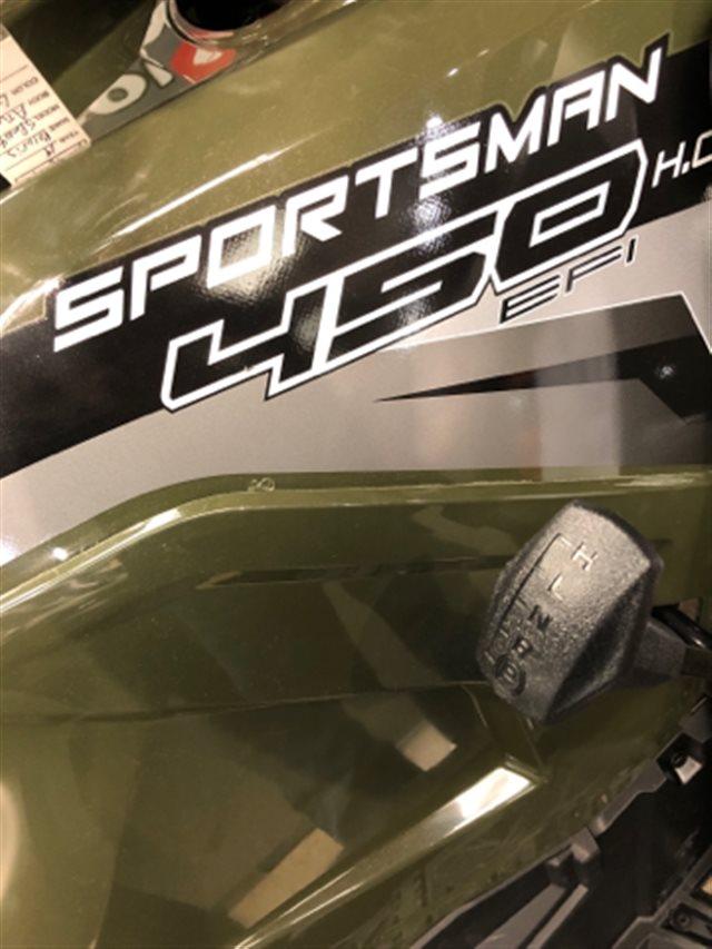 2019 Polaris Sportsman 450 H.O. Base at Sloan's Motorcycle, Murfreesboro, TN, 37129