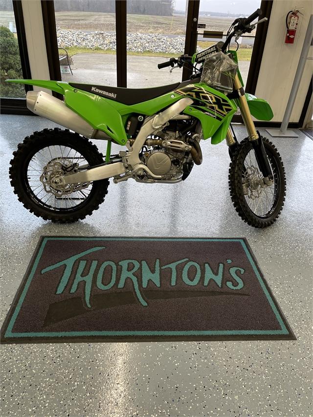 2021 Kawasaki KX KX450 at Thornton's Motorcycle - Versailles, IN