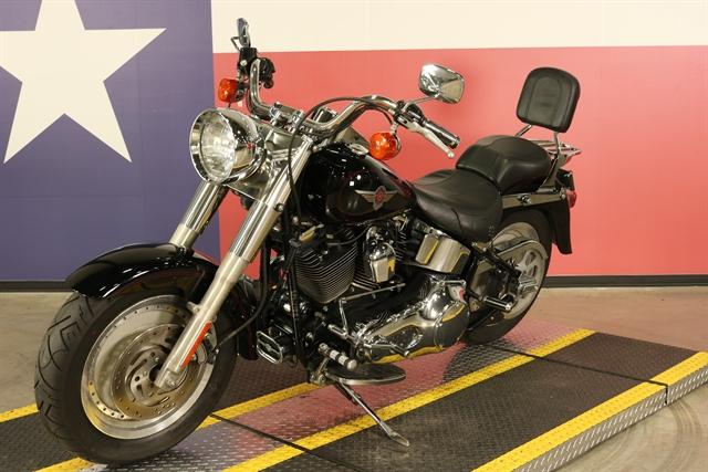 2001 HARLEY-DAVIDSON FLSTF-Fatboy at Texas Harley