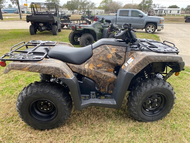2021 Honda FourTrax Rancher 4X4 Automatic DCT EPS at Dale's Fun Center, Victoria, TX 77904