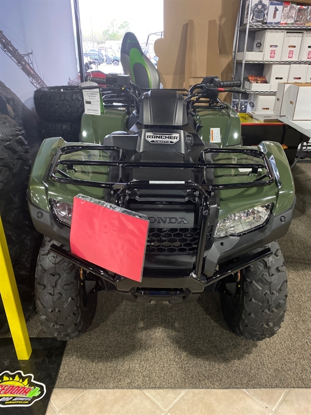2019 Honda FourTrax Rancher 4X4 Automatic DCT IRS at Dale's Fun Center, Victoria, TX 77904