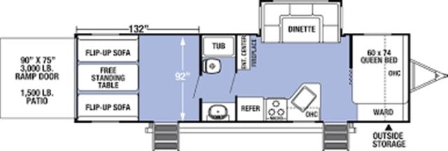 2020 Forest River XLR Boost Toy Hauler at Campers RV Center, Shreveport, LA 71129