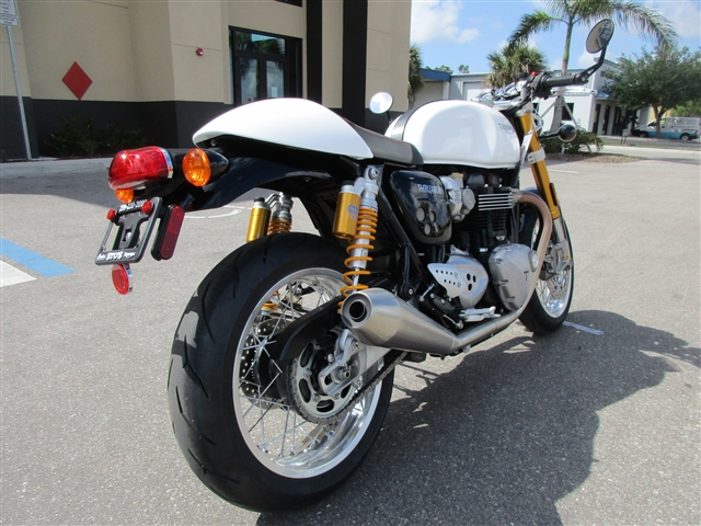 2018 Triumph Thruxton 1200 R at Fort Myers