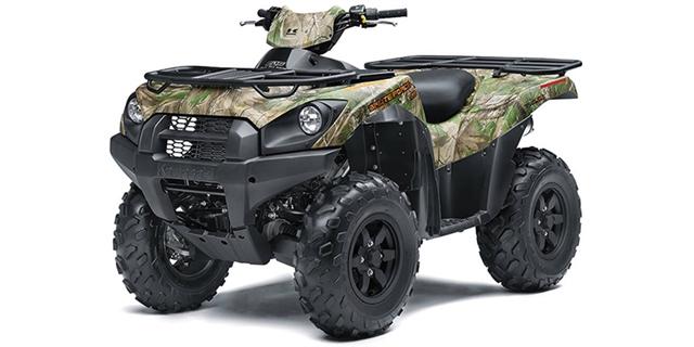 2021 Kawasaki Brute Force 750 4x4i EPS Camo at Hebeler Sales & Service, Lockport, NY 14094