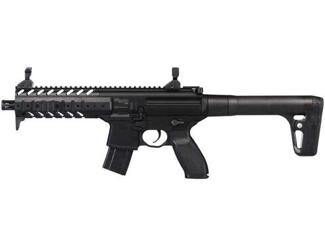 2018 Sig Sauer SIG MPX Air Rifle 90 Gram CO2 - 177 Caliber at Harsh Outdoors, Eaton, CO 80615