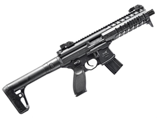 2018 Sig Sauer SIG MPX Air Rifle 90 Gram CO2 - 177 Caliber at Harsh Outdoors, Eaton, CO 80615