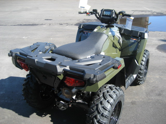 2020 Polaris 450 HO Sportsman-green at Fort Fremont Marine