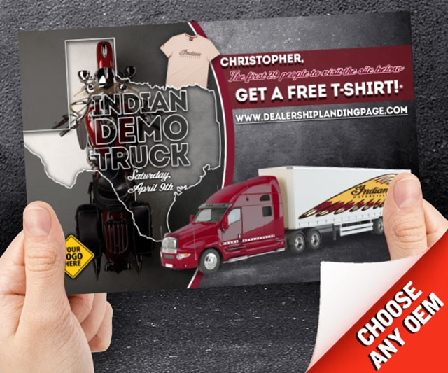 2018 ANYTIME Indian Demo Truck Powersports at PSM Marketing - Peachtree City, GA 30269