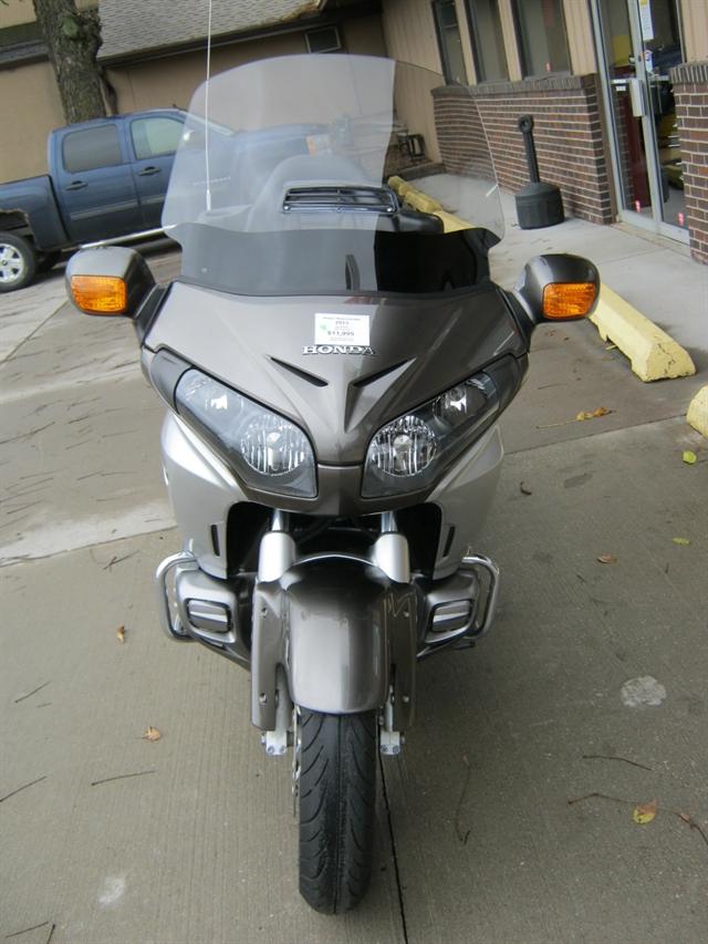 2013 Honda 1800 Goldwing at Brenny's Motorcycle Clinic, Bettendorf, IA 52722
