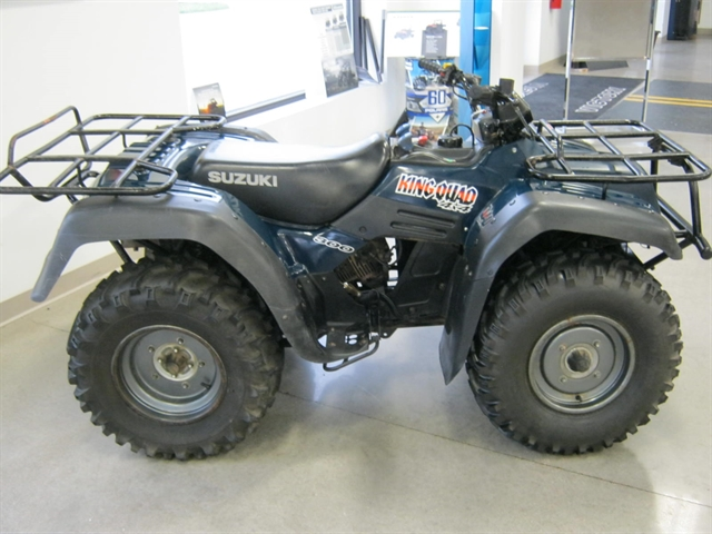 1999 Suzuki King Quad at Brenny's Motorcycle Clinic, Bettendorf, IA 52722