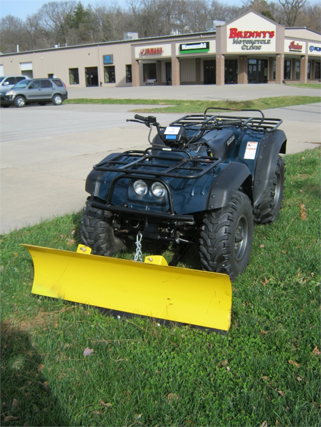 1999 Suzuki King Quad Snow Plow at Brenny's Motorcycle Clinic, Bettendorf, IA 52722