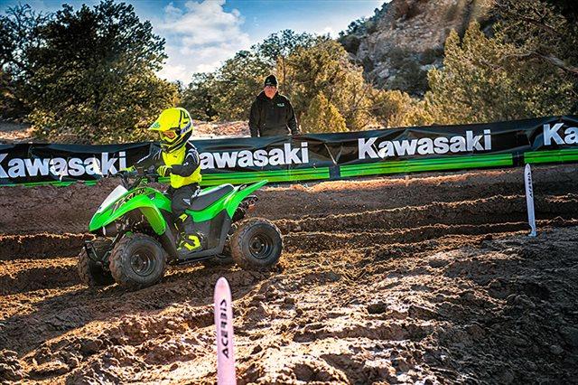 2021 Kawasaki KFX 50 at Shawnee Honda Polaris Kawasaki