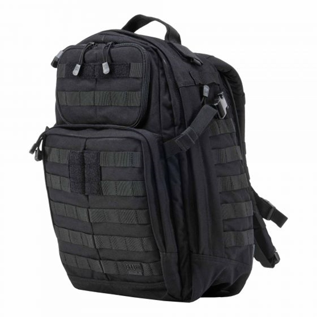 2019 511 Tactical RUSH24 Backpack 37L Black at Harsh Outdoors, Eaton, CO 80615