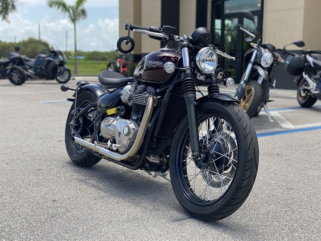 2018 Triumph Bonneville Bobber Base at Fort Myers