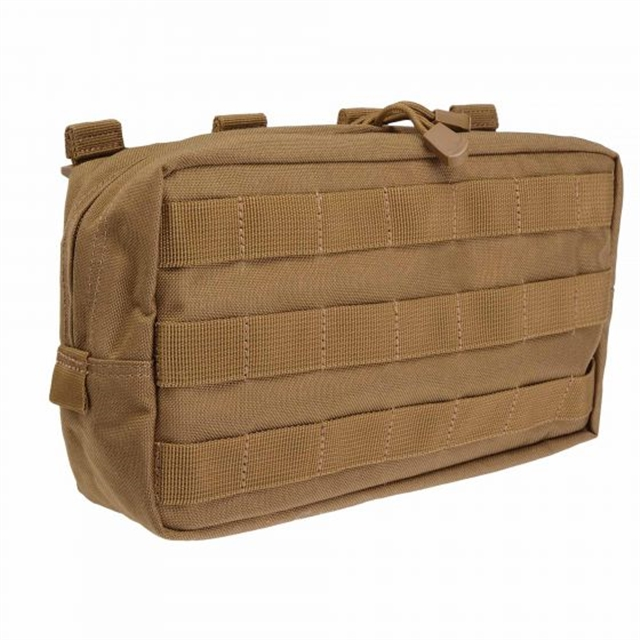 2019 5.11 Tactical 10 x 6 Horizontal Pouch Flat Dark Earth at Harsh Outdoors, Eaton, CO 80615