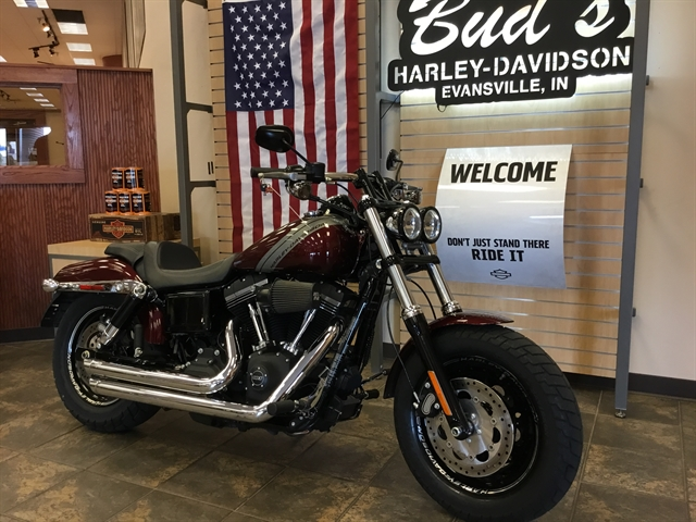 2015 Harley-Davidson Dyna Fat Bob at Bud's Harley-Davidson, Evansville, IN 47715