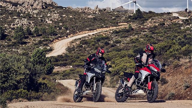 2021 Ducati Multistrada V4 S at Eurosport Cycle