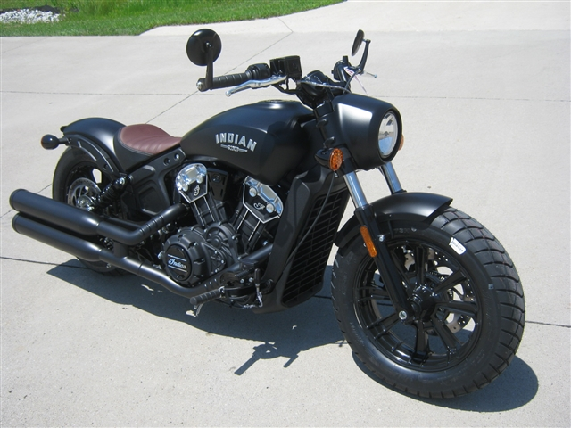 2019 Indian Motorcycle Scout Bobber ABS at Brenny's Motorcycle Clinic, Bettendorf, IA 52722