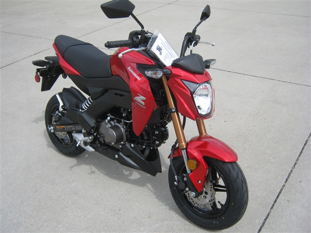 2018 Kawasaki Z125 PRO Base at Brenny's Motorcycle Clinic, Bettendorf, IA 52722