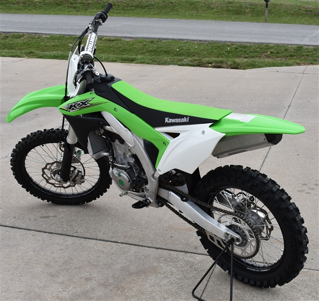 2017 Kawasaki KX 450F at Lincoln Power Sports, Moscow Mills, MO 63362