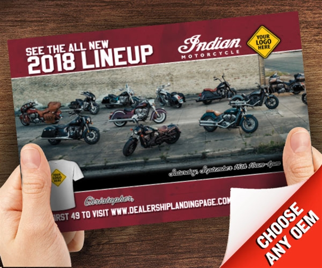 Indian New Model Release Powersports at PSM Marketing - Peachtree City, GA 30269