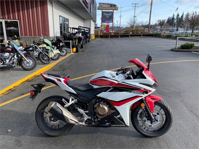 2018 Honda CBR500R ABS at Lynnwood Motoplex, Lynnwood, WA 98037