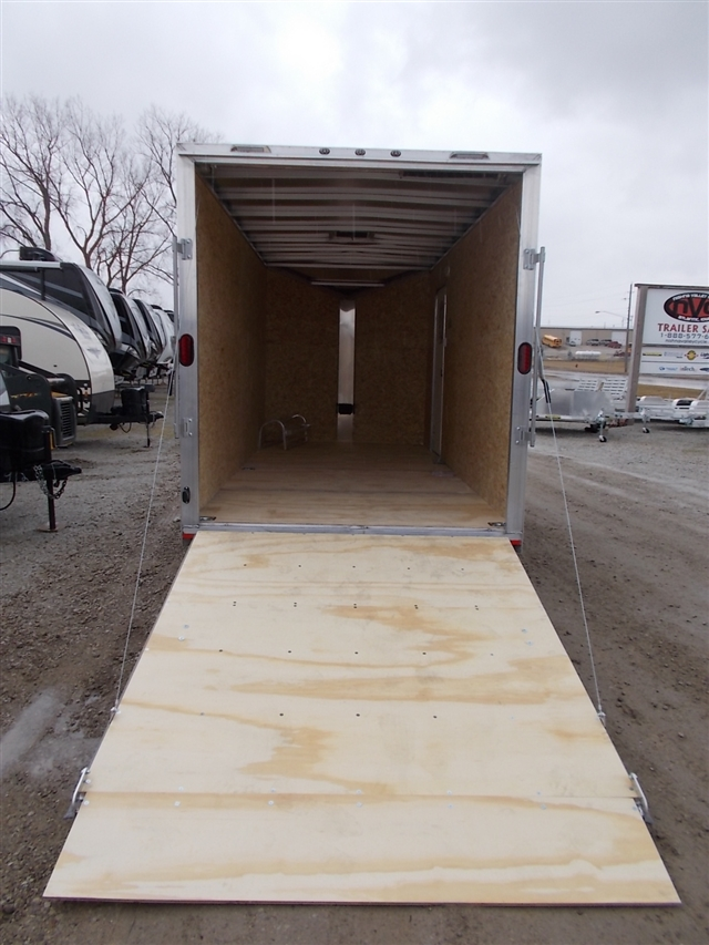 2020 Lightning Trailers LTF716TA2 7 Wide Flat Top at Nishna Valley Cycle, Atlantic, IA 50022