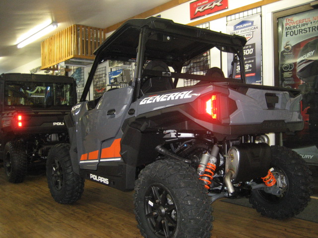 2020 Polaris General XP 1000 Ride Command-Stealth Grey at Fort Fremont Marine