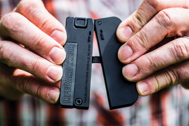 2019 Trailblazer Firearms LifeCard 22LR at Harsh Outdoors, Eaton, CO 80615