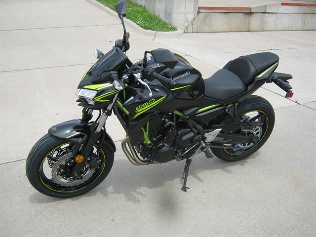 2020 Kawasaki Z650 ABS at Brenny's Motorcycle Clinic, Bettendorf, IA 52722