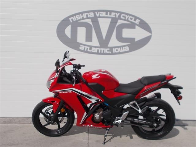2021 Honda CBR300R Base at Nishna Valley Cycle, Atlantic, IA 50022