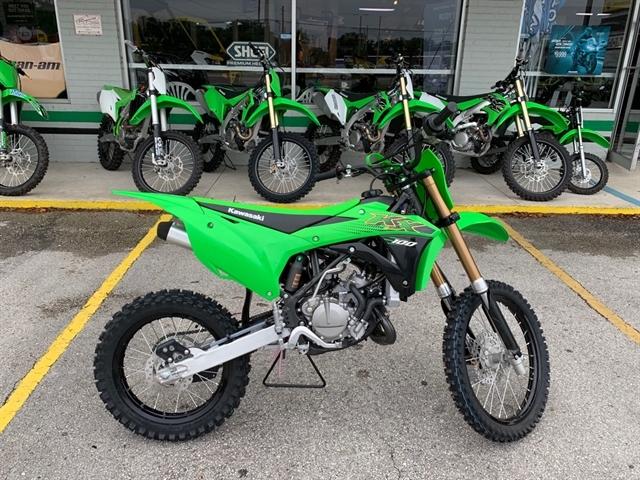 2020 Kawasaki KX 100 at Jacksonville Powersports, Jacksonville, FL 32225