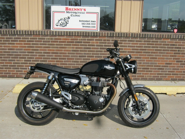 2019 Triumph Speed Twin 1200 at Brenny's Motorcycle Clinic, Bettendorf, IA 52722