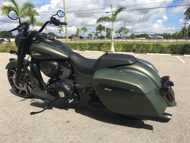 2020 Indian Springfield Dark Horse at Fort Myers