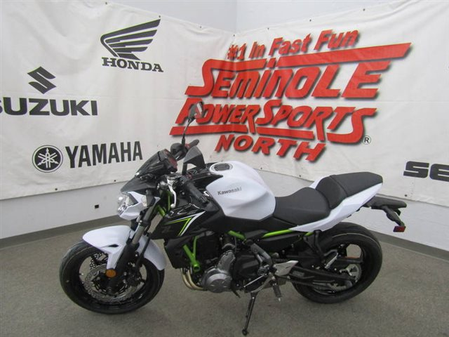 2017 Kawasaki Z650 Base at Seminole PowerSports North, Eustis, FL 32726