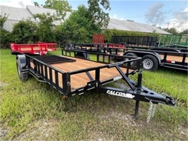 2021 Falcon Trailer Works ATV614 at Columbanus Motor Sports, LLC