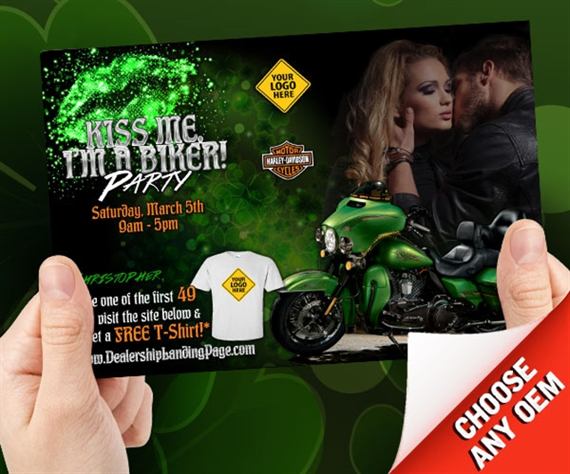 Kiss Me - I'm a Biker Powersports at PSM Marketing - Peachtree City, GA 30269