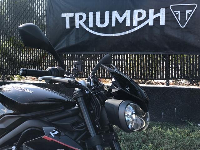 2018 Triumph Street Triple R R LRH at Tampa Triumph, Tampa, FL 33614