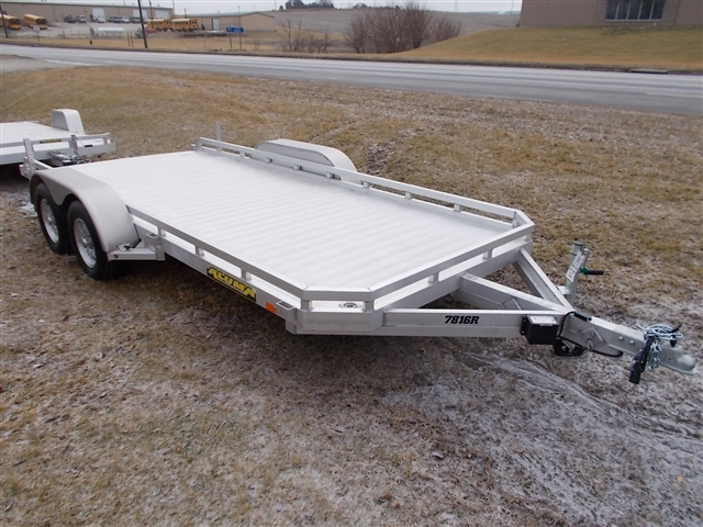 2020 Aluma 7816 Tandem Axle Utility Trailer at Nishna Valley Cycle, Atlantic, IA 50022