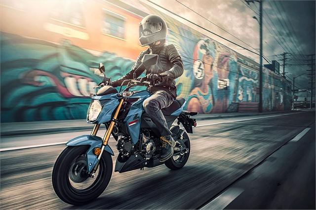 2021 Kawasaki Z125 PRO Base at Hebeler Sales & Service, Lockport, NY 14094