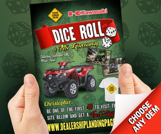 2019 Anytime Dice Roll Powersports at PSM Marketing - Peachtree City, GA 30269