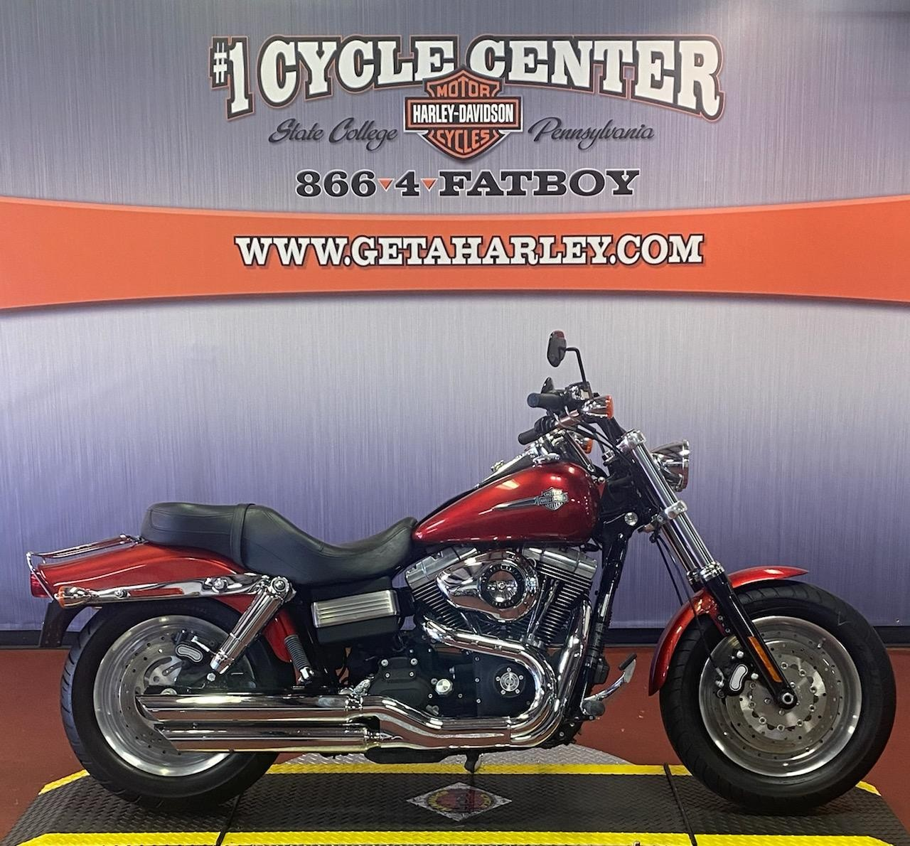 2008 Harley-Davidson Dyna Glide Fat Bob at #1 Cycle Center Harley-Davidson