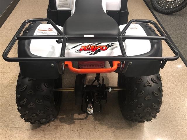 2020 KAYO USA, A & G Distributing BULL 150 AU150-WHT at Sloans Motorcycle ATV, Murfreesboro, TN, 37129