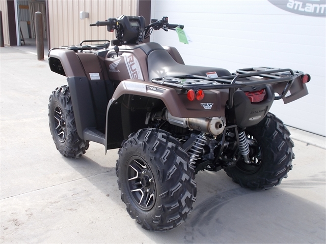 2021 Honda FourTrax Foreman Rubicon 4x4 Automatic DCT EPS Deluxe at Nishna Valley Cycle, Atlantic, IA 50022