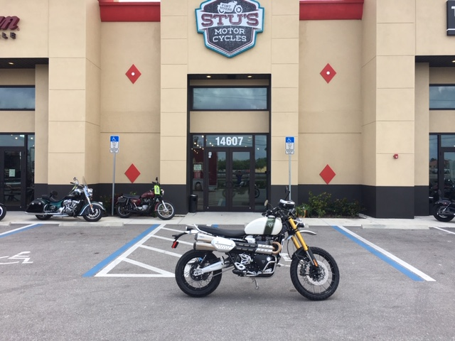 2019 Triumph Scrambler 1200 XE - Showcase at Fort Myers